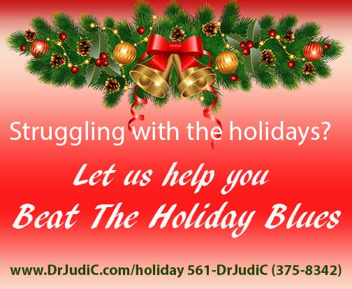 Beat The Holiday Blues - Your therapist    for therapy that works
